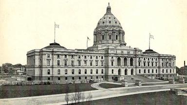 Minnesota State Capitol building, ca. 1910