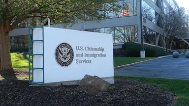US Customs and Immigration Services building