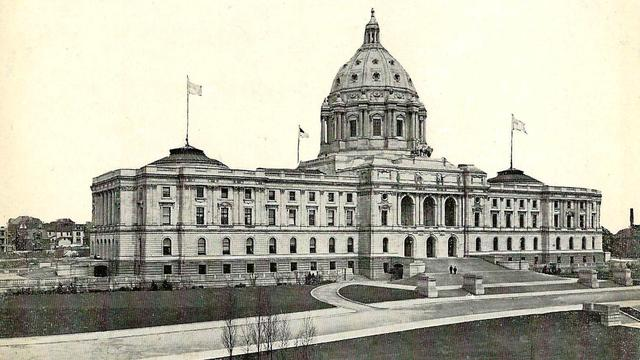 The Minnesota State Capitol building, ca. 1910